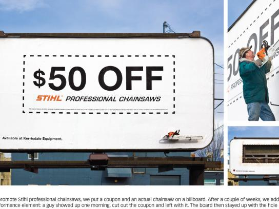 Stihl Ambient Ad -  Coupon