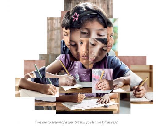 Movistar Print Ad -  Student