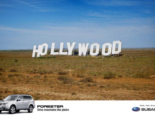 Subaru Print Ad -  Hollywood