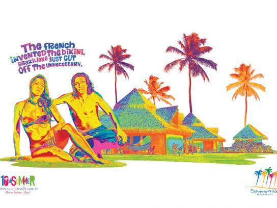 SummerVille Print Ad -  Summerville 10th Summer, 1