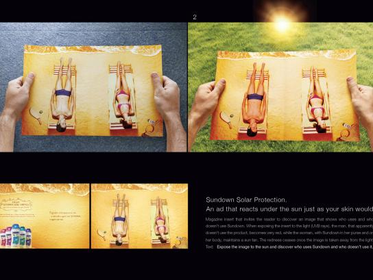 Sundown Ambient Ad -  Sunbathing