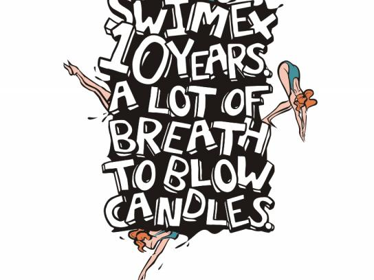 Swimex Print Ad -  Candles