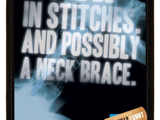 Sydney Comedy Festival Print Ad -  Stitches