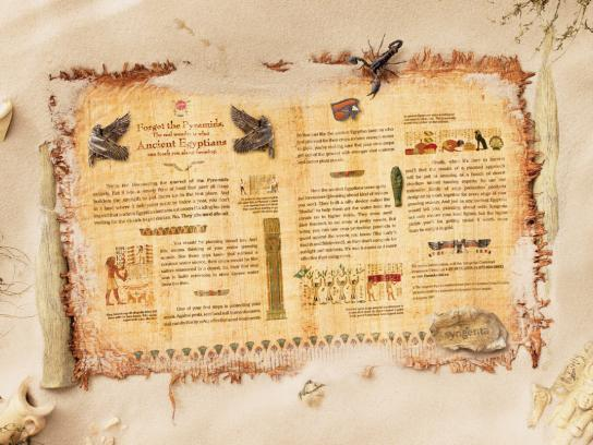 Syngenta Print Ad -  Egyptians