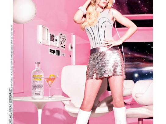 Absolut Print Ad -  Cosmo