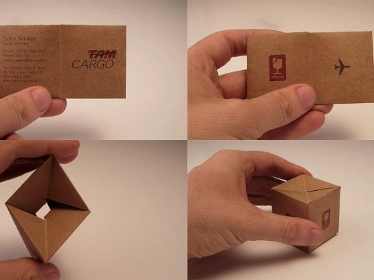 TAM Airlines Direct Ad -  Business card