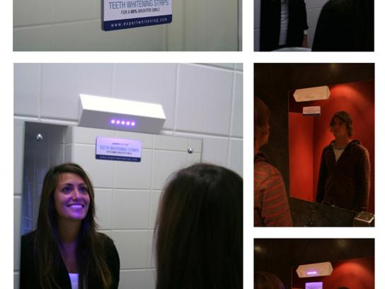 Teeth Whitening Strips Ambient Ad -  Ultra violet light