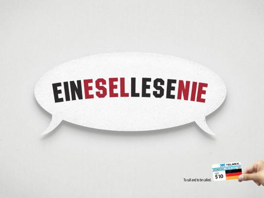 Telmex Print Ad -  Germany