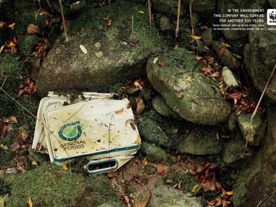 WWF Print Ad -  General Foods