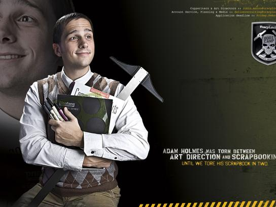 Tracylocke Print Ad -  Internship, Art director