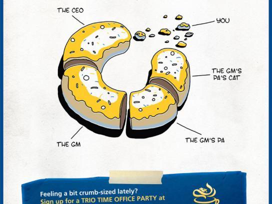 Maxwell Print Ad -  Donut