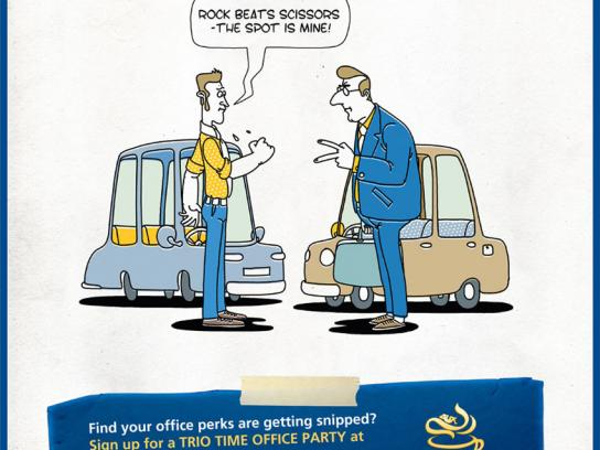 Maxwell Print Ad -  Parking space