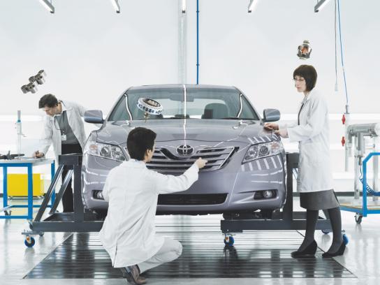 Toyota Print Ad -  Design room
