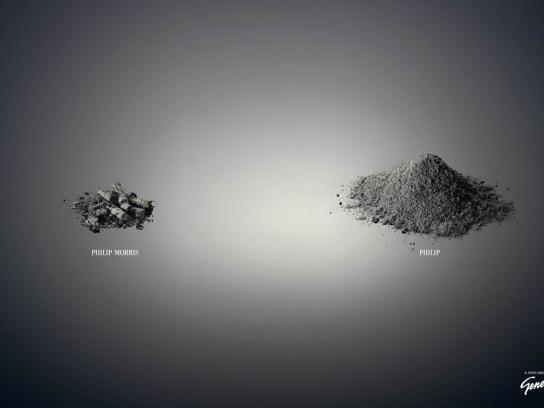 Non Smoking Generation Print Ad -  Ashes to ashes