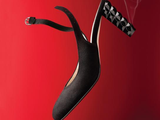 Taryn Rose Print Ad -  Hot over heels