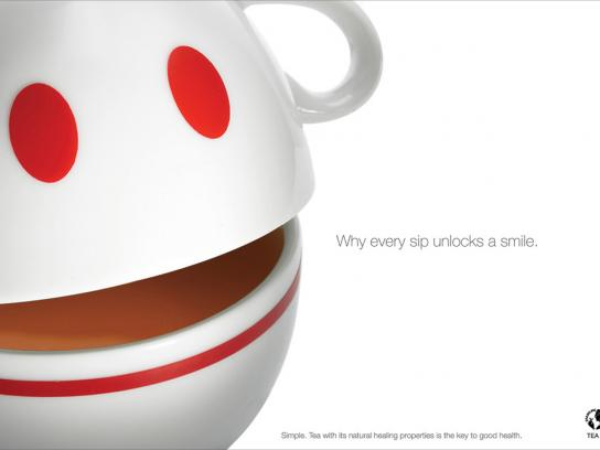 Tea Board of India Print Ad -  Smile