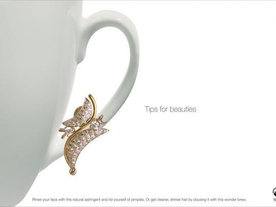 Tea Board of India Print Ad -  Tips