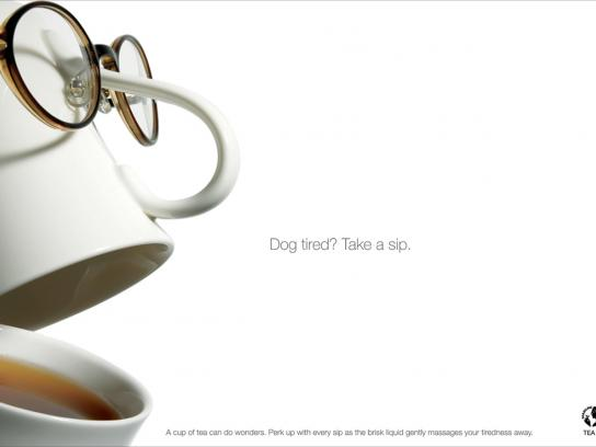 Tea Board of India Print Ad -  Tired