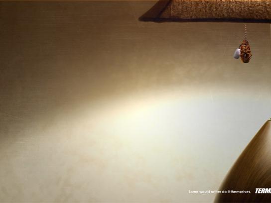 Terminix Print Ad -  Lamp