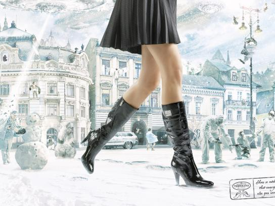 Tervolina Print Ad -  Imperfect world
