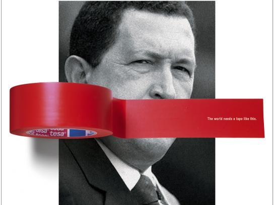 Tesa Print Ad -  Chavez
