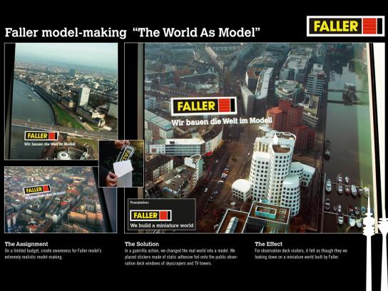 Faller Ambient Ad -  World