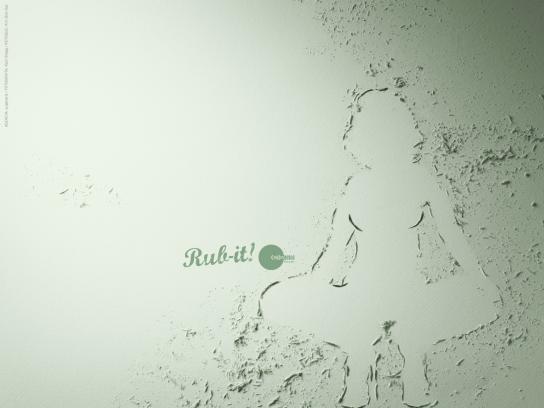 La Condoneria Print Ad -  Rub-it! (The little toad)