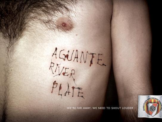 River Plate Print Ad -  Thread