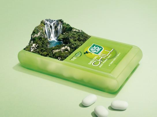 Tic Tac Print Ad -  Green