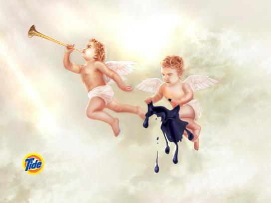Tide Print Ad -  Angels, 1