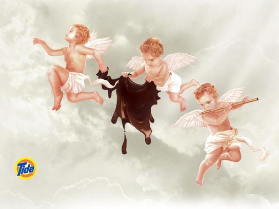 Tide Print Ad -  Angels, 3