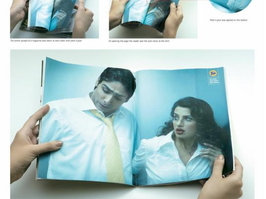 Tide Print Ad -  Lipstick
