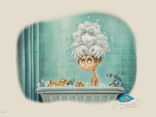 Tiji Outdoor Ad -  Shampooing