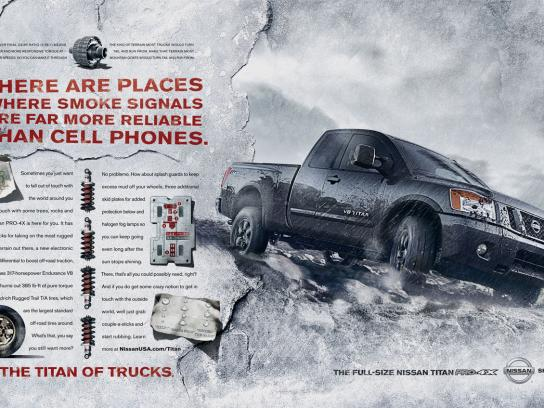 Nissan Print Ad -  Cell phones