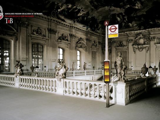 TNB Print Ad -  Bus stop