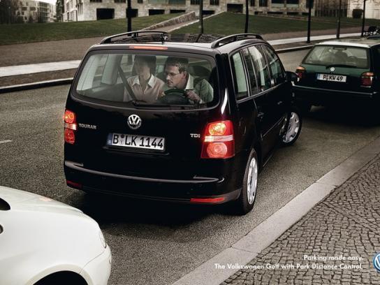 Volkswagen Print Ad -  Touran
