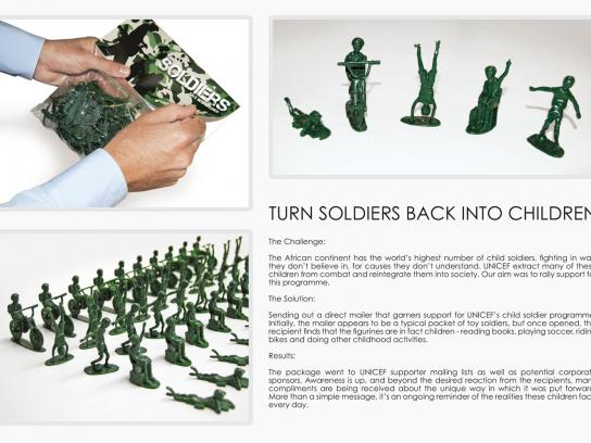 Unicef Direct Ad -  Toy Soldiers