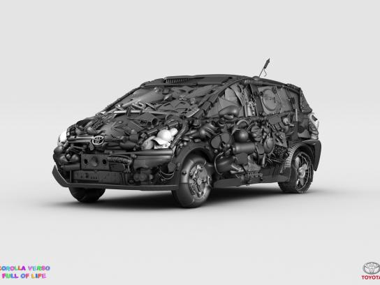Toyota Print Ad -  Full of life