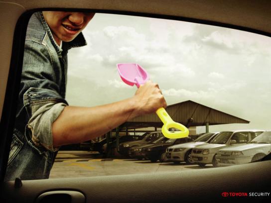 Toyota Print Ad -  Shovel