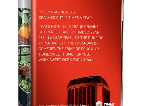 Trane Print Ad -  12 Times