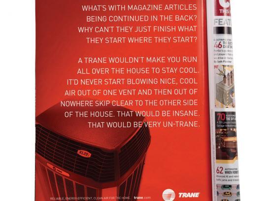 Trane Print Ad -  Continued