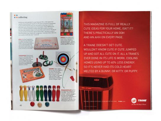 Trane Print Ad -  Cute Ideas
