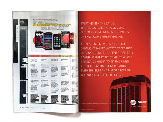 Trane Print Ad -  Tech Marvels