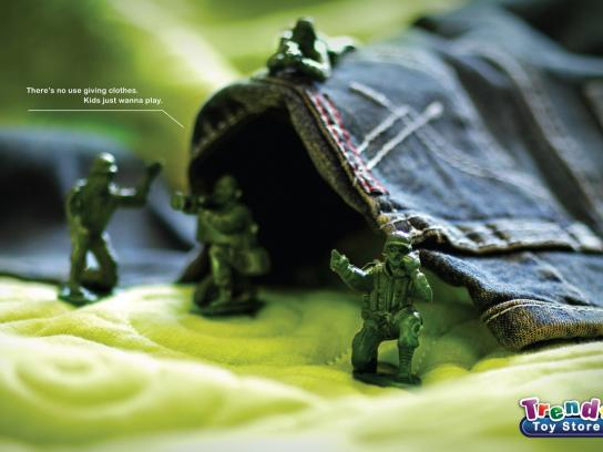Trends Toy Store Print Ad -  Tent