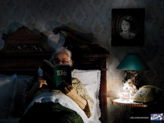 Trident Print Ad -  Grandma