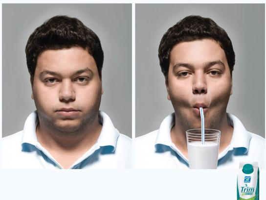 Trim Print Ad -  Man