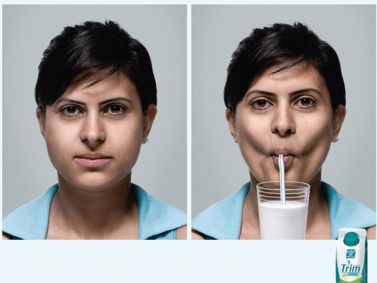 Trim Print Ad -  Woman