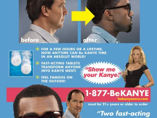 Absolut Print Ad -  Be Kanye