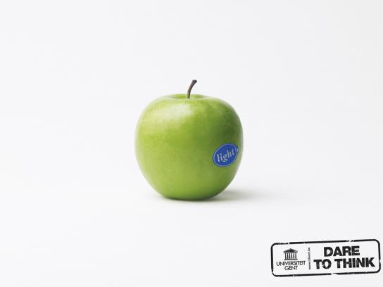 University of Gent Print Ad -  Apple