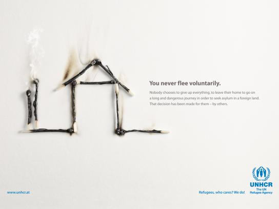 UNHCR Print Ad -  Matches